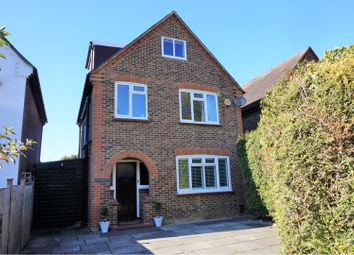 Thumbnail 4 bed detached house for sale in School Lane, Addlestone