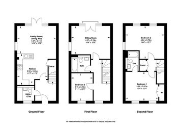 3 bed town house for sale in Ribbans Park Road, Ipswich, Suffolk IP3
