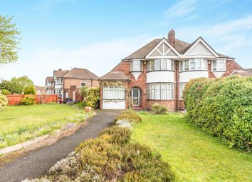 Thumbnail 3 bed semi-detached house for sale in Coverdale Road, Solihull