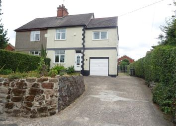 Thumbnail 3 bed semi-detached house for sale in Francis Lane, Newton Burgoland, Leicestershire