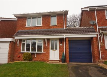 Thumbnail 3 bed link-detached house for sale in Denbury Close, Cannock