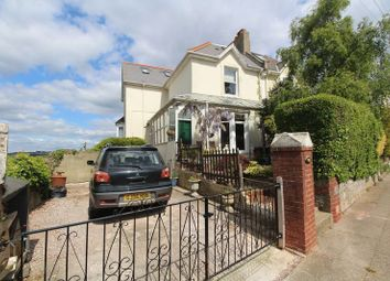 Thumbnail 5 bed semi-detached house for sale in Warberry Road West, Torquay