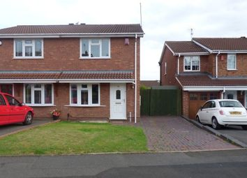 Thumbnail 2 bedroom semi-detached house for sale in Bordeaux Close, Milking Bank, Dudley, West Midlands