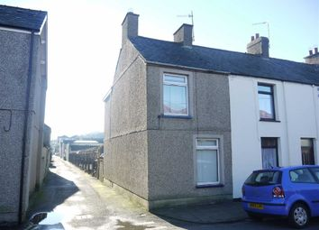 Thumbnail 2 bed end terrace house for sale in Cambrian Terrace, Porthmadog, Gwynedd