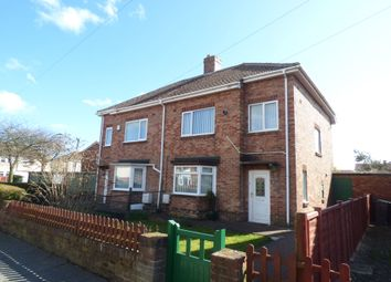 Thumbnail 3 bed semi-detached house for sale in Dilston Drive, Ashington