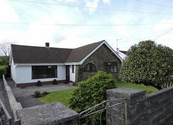 Thumbnail 3 bed detached bungalow for sale in Rhyddwen Road, Craig-Cefn-Parc, Swansea