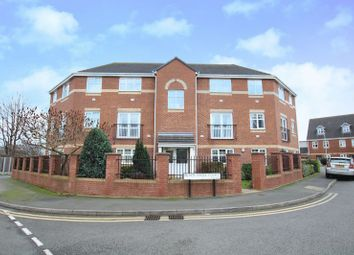 Thumbnail 2 bed flat for sale in Black Eagle Court, Burton-On-Trent