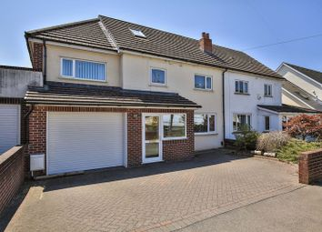 Thumbnail 5 bed semi-detached house for sale in Pen-Y-Dre, Rhiwbina, Cardiff