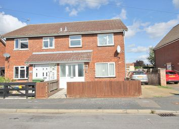 Thumbnail 3 bed semi-detached house for sale in Mallett Close, March, Cambridgeshire