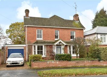 Thumbnail 4 bedroom detached house for sale in Dunmow Hill, Fleet, Hampshire
