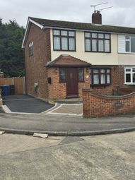 Thumbnail 3 bed semi-detached house to rent in Nursery Close, South Ockendon