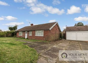 Thumbnail 3 bed bungalow for sale in Mill Road, Ellingham, Bungay