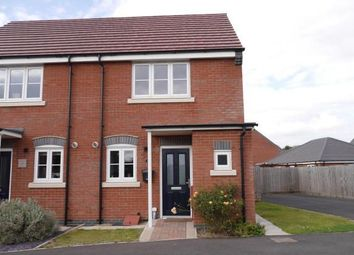Thumbnail 2 bed semi-detached house to rent in Red Deer Close, Asfordby, Melton Mowbray