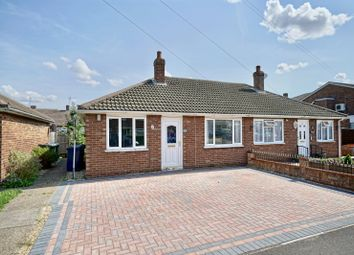 Thumbnail 2 bed semi-detached bungalow for sale in Hardwick Road, Eynesbury, St Neots