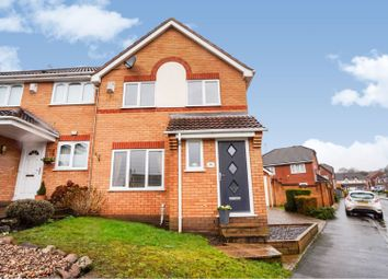 Thumbnail 3 bed semi-detached house for sale in Moorwood Crescent, Nuneaton