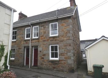 Thumbnail 2 bedroom semi-detached house to rent in Trevarrack Noweth, Gulval, Penzance