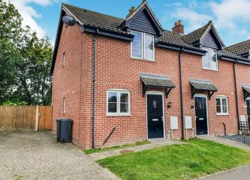 Thumbnail 2 bedroom end terrace house for sale in Post Mill Lane, Fressingfield, Eye