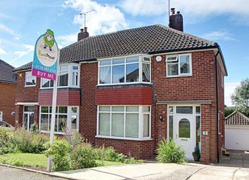 Thumbnail 3 bed semi-detached house for sale in Hall Crescent, Rotherham