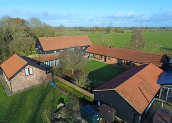 Thumbnail 4 bed barn conversion for sale in Hoggars Road, Mendlesham, Stowmarket, Suffolk