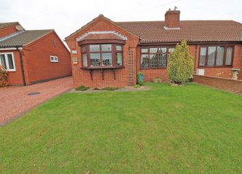 Thumbnail 2 bed semi-detached house for sale in Highfields, Crowle, Scunthorpe