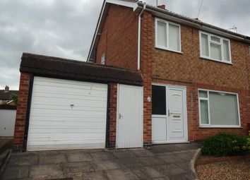 Thumbnail 3 bed semi-detached house to rent in Skelton Drive, Leicester