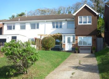 Thumbnail 5 bed semi-detached house for sale in Rowan Way, Rottingdean, Brighton, East Sussex