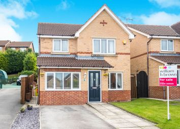 Thumbnail 3 bedroom detached house for sale in Greenside Close, Clowne, Chesterfield