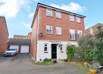 Thumbnail 3 bed semi-detached house for sale in Mendip Way, Stevenage