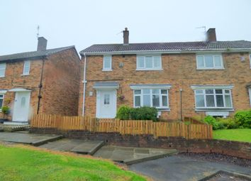 Thumbnail 3 bed semi-detached house for sale in Layburn Place, Peterlee