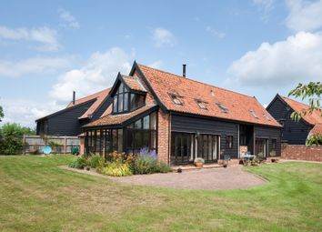 Thumbnail 4 bed barn conversion for sale in Norwich Rd, Little Stonham, Stowmarket, Suffolk