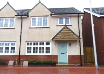 Thumbnail 3 bed property to rent in Clos Maes Rhedyn, Gorslas, Llanelli, Carmarthenshire.