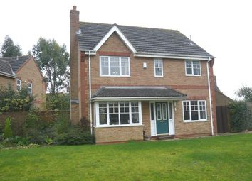 Thumbnail 4 bedroom detached house for sale in Low Side, Upwell, Wisbech