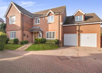 Thumbnail 5 bedroom detached house for sale in Brickyard Close, Balsall Common, Coventry