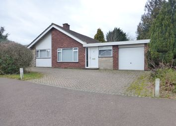 Thumbnail 3 bedroom detached bungalow for sale in Brettingham Avenue, Cringleford, Norwich