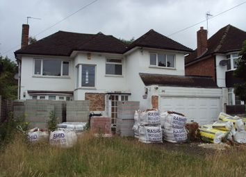 Thumbnail 4 bed detached house for sale in Maney Hill Road, Wylde Green, Sutton Coldfield