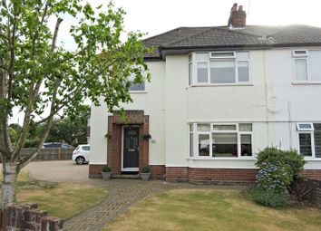 Thumbnail 4 bed semi-detached house for sale in Crofton Road, Ipswich