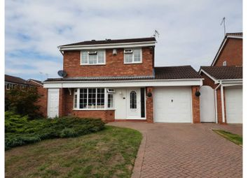 Thumbnail 4 bed detached house for sale in Hillmorton Close, Redditch