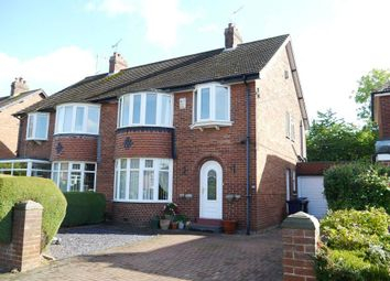 3 bed semi-detached house for sale in Woolsington Gardens, Woolsington, Newcastle Upon Tyne NE13