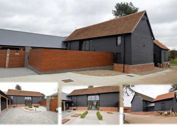 Thumbnail 6 bed barn conversion for sale in Cobbinsend Road, Upshire, Essex