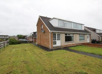 Thumbnail 3 bed semi-detached house for sale in Fernmore Park, Bangor