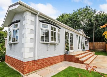 Thumbnail 2 bed mobile/park home for sale in Newlands Park, Bedmond Road, Abbots Langley