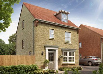 "Thumbnail 4 bed detached house for sale in ""Bayswater"" at Oxford Road, Calne"