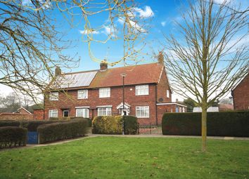 Thumbnail 3 bed semi-detached house for sale in Manor Drive, Dunnington, York