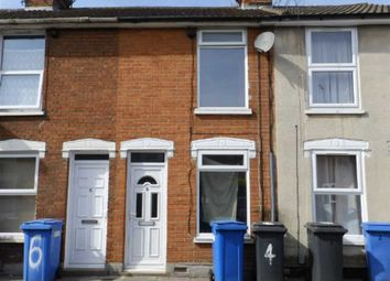 Thumbnail 2 bed terraced house to rent in Sirdar Road, Ipswich