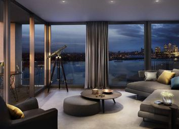 Thumbnail 2 bed flat for sale in Barrier House, Royal Wharf, London