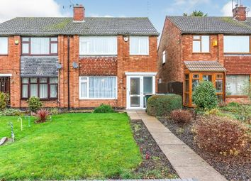 3 bed semi-detached house for sale in Postbridge Road, Styvechale, Coventry, West Midlands CV3