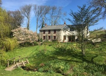 Thumbnail 4 bed detached house to rent in Penhallow, Truro