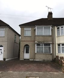 Thumbnail 2 bed end terrace house for sale in Bridport Avenue, Romford, Essex
