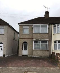 Thumbnail 2 bedroom end terrace house for sale in Bridport Avenue, Romford, Essex