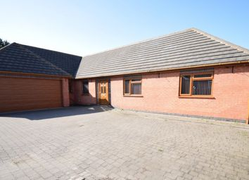 Thumbnail 5 bedroom detached bungalow for sale in Spencefield Gardens, Evington, Leicester